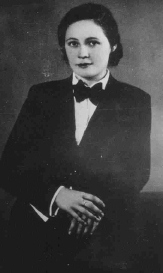 Vitezslava Kapralova in 1935. Photo V. Klaska, Brno